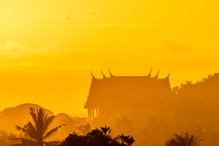Rising sun in the morning. Stock Images