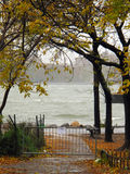 Rising Tide, Hurricane Sandy, Brooklyn, New York Royalty Free Stock Images