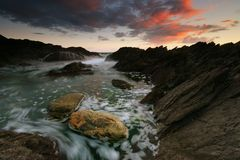 Rising Tide at Warren Point South Royalty Free Stock Images