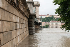 Rising Water, Budapest Stock Photo