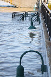 Rising Waters In Grand Rapids stock photography