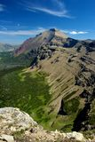 Rising Wolf Mountain. Two Medicine District, Glacier national park, montana Royalty Free Stock Photography