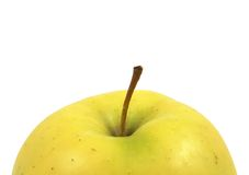 Rising yellow apple Royalty Free Stock Photo