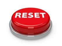 Risistemazione del bottone Immagine Stock