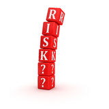 Risk. Computer generated image. 3d render Royalty Free Stock Photo
