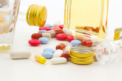 Risk of addiction Stock Photography