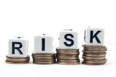 Risk - affärsidé arkivfoton