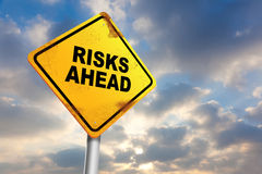 Risk Ahead Royalty Free Stock Photo