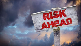 Risk Ahead Stock Photography