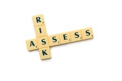 Risk assess Stock Images
