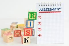 Risk assessment or management plan
