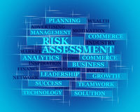 Risk,Assessment word concept Stock Images