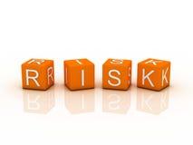 Risk Blocks Stock Photo