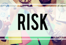 Risk Chance Safety Security Unsure Weakness Concept Royalty Free Stock Image