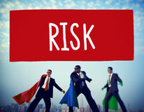 Risk Chance Safety Security Unsure Weakness Concept Royalty Free Stock Photo