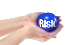 Risk concept. Shallow DOF, there is no infringement of trademark copyright Royalty Free Stock Photos