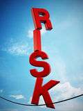 RISK concept Stock Photography