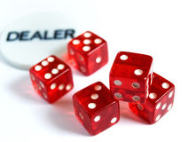 Risk dealer Stock Photo