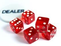 Risk dealer stock photo