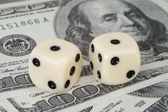 risk för dollarfaktorinvesteringar Royaltyfria Foton