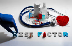 Risk factor Stock Photography