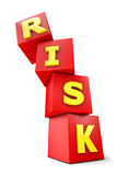 Risk falling Stock Images