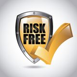 Risk free design Royalty Free Stock Photo