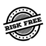 Risk Free rubber stamp Royalty Free Stock Images