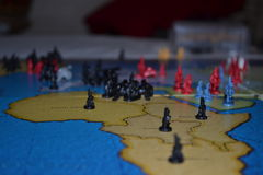 Risk game pieces Stock Photos