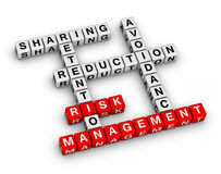 Risk management Stock Image