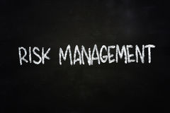 Risk Management Royalty Free Stock Photography