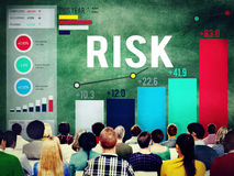 Risk Management Business Investment Unsteady Concept.  Royalty Free Stock Image