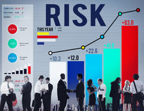 Risk Management Business Investment Unsteady Concept Royalty Free Stock Photo