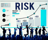Risk Management Business Investment Unsteady Concept Stock Photo