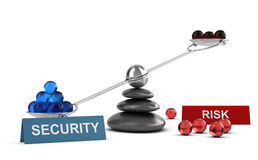Risk Management. Choice of Security Royalty Free Stock Photography