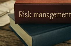 Risk management concept Stock Photography