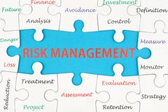 Risk management concept Royalty Free Stock Photo