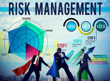 Risk Management Control Security Safety Concept royalty free stock images