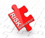 Risk management. 3d generated picture of a risk management concept royalty free illustration