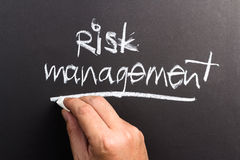 Risk management Royalty Free Stock Photo