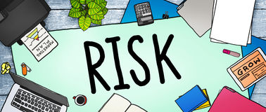 Risk Management Investment Finance Security Concept Royalty Free Stock Images