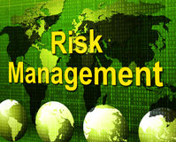 Risk Management Means Authority Manager And Administration Royalty Free Stock Image