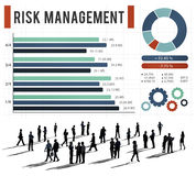 Risk Management Unsteady Safety Security Concept Royalty Free Stock Image
