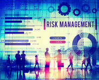 Risk Management Unsteady Safety Security Concept Royalty Free Stock Photography