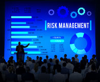 Risk Management Unsteady Safety Security Concept.  Stock Image