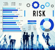 Risk Management Unsteady Safety Security Concept Stock Photography