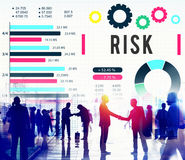 Risk Management Unsteady Safety Security Concept Royalty Free Stock Images