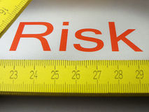 Risk - results Stock Photography