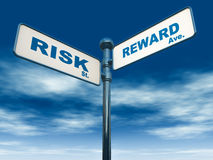 Risk reward Royalty Free Stock Photos