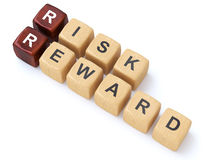 Risk and Reward crosswords Stock Photography